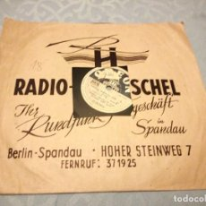 Discos de pizarra: EVELIN KÜNNECHE* SINGT MICHAEL JARY ?– KARUSSELL ... / LIEBLING, WEISST DU NOCH ...?.1942. Lote 148102014