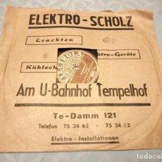 Discos de pizarra: LUBO D'ORIO MIT SEINEM ORCHESTER* ?– SYMPHONIE / TWO O'CLOCK JUMP.1947. Lote 148104258