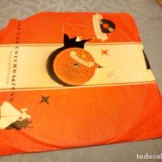 Discos de pizarra: WILLY SCHNEIDER MIT BEGLEITGESANG - DRUNTER UND DRÜBER, KARNEVALSPOTPOURRI 1954 I. TEIL / II. TEIL. Lote 148117558