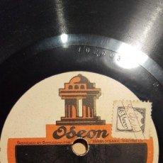 Discos de pizarra: DISCO 78 RPM - ODEON - COBLA LA BISBAL - SARDANA - LA GALLINA ENAMORADA - CATALUÑA - PIZARRA. Lote 148145422