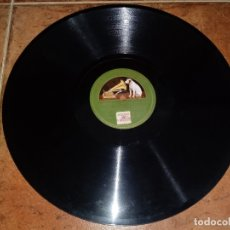 Discos de pizarra: ORQUESTA SINFONICA DEL GRAMOFONO GIGANTES Y CABEZUDOS LOS GAVILANES DISCO PIZARRA LA VOZ DE SU AMO. Lote 148817414
