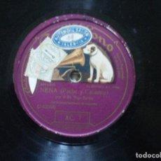 Discos de pizarra: SR. SAGI-BARBA. FLORES + NENA. Lote 148949606