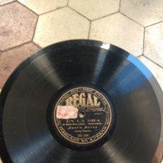Discos de pizarra: DISCO AMALIA MOLINA - EN LA ERA - EL MAÑICO -. Lote 149360236