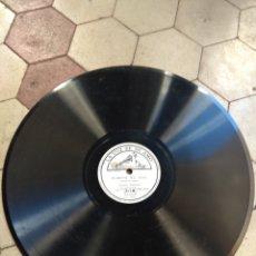 Discos de pizarra: DISCO ARIA PARA LA CUERDA EN SOL - HIMNO AL SOL - JACQUES THIBAUD. Lote 149371306