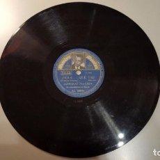 Discos de pizarra: DISCO 78 RPM - ALHAMBRA FOTO - ANTONIO MACHIN - CUBA - BOLERO - YA NO PUEDO CREERLO - PIZARRA. Lote 149373742