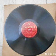 Discos de pizarra: DISCO PIZARRA COLUMBIA , R 14559 , GEORGIA IMPOROMPTO BROWN FLAMINOO , GEORGE JOHNSON Y SU ORQUES. Lote 149476550