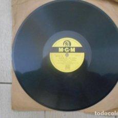 Discos de pizarra: DISCO PIZARRA M-G-M , MGM.136 , AMOR DE MI VIDA ( LOVE OF MY LIFE ) , NO PUEDES EQUIVOCARTE .. Lote 149477502