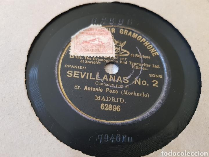 DISCOS 78 RPM ANTONIO POZO MOCHUELO (Música - Discos - Pizarra - Flamenco, Canción española y Cuplé)