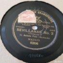 Discos de pizarra: DISCOS 78 RPM ANTONIO POZO MOCHUELO. Lote 149682540