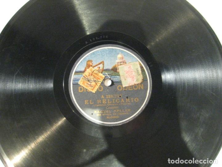 RAQUEL MELLER, EL RELICARIO Y ¿SOY FEA?, DISCO PIZARRA 25 CMS (Música - Discos - Pizarra - Flamenco, Canción española y Cuplé)
