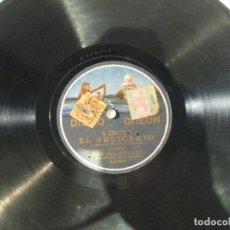 Discos de pizarra: RAQUEL MELLER, EL RELICARIO Y ¿SOY FEA?, DISCO PIZARRA 25 CMS. Lote 149753002