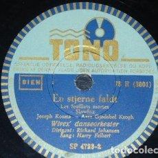 Discos de pizarra: DISCO 78 RPM - TONO - HARRY FELBERT - WIVEX DANSEORKESTER - BOLERO - DINAMARCA - PIZARRA. Lote 149804134