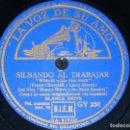 Discos de pizarra: DISCO 78 RPM - VSA - BLANCA NIEVES & LOS SIETE ENANITOS - DISNEY - FILM - ESPAÑOL - RARO - PIZARRA. Lote 149875678