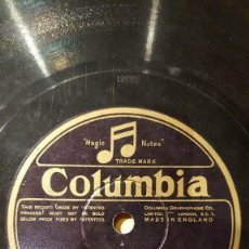 Discos de pizarra: DISCO 78 RPM - COLUMBIA - BILLY MAYERL - PIANO SOLO - THREE MINIATURES IN SYNCOPATION - PIZARRA. Lote 149923030