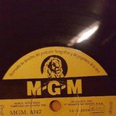Discos de pizarra: DISCO 78 RPM - MGM - HOWARD KEEL - BILL LEE - SIETE NOVIAS PARA SIETE HERMANOS - FILM - PIZARRA. Lote 150531450