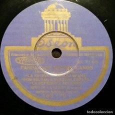 Discos de pizarra: DISCO 78 RPM - ODEON - NIÑO DE LA HUERTA - GUITARRA - FANDANGOS REPUBLICANOS - PIZARRA. Lote 150757498
