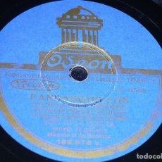 DISCO 78 RPM - ODEON - NIÑO DE LA HUERTA - M. BADAJOZ - GUITARRA - MILONGA - FANDANGUILLOS - PIZARRA
