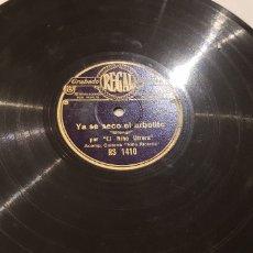 Discos de pizarra: DISCOS 78 RPM NIÑO DE UTRERA. Lote 151102246