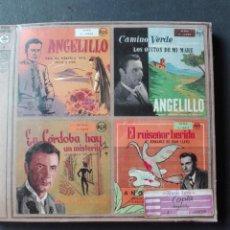 Discos de pizarra: ANGELILLO COPLAS. Lote 151378162