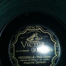 Discos de pizarra: PRECIOSILLA. Lote 151451197