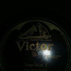 Discos de pizarra: TANGO NUM.1. Lote 151452256