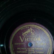 Discos de pizarra: MELANGIA. Lote 151452996