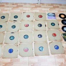 Discos de pizarra: LOTE DE 26 DISCOS PARA GRAMOLA. Lote 151529814