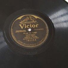 Discos de pizarra: DISCO 78 RPM CANCIÓN CUBANA CON GUITARRA. Lote 151603756