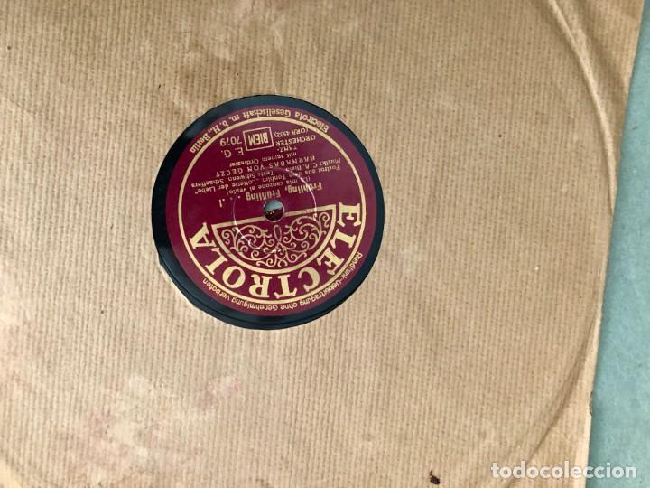 Discos de pizarra: La voz de su amo: Carpeta con más de doce discos con música variada. ver índice - Foto 4 - 151921494