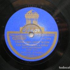 Discos de pizarra: JOSÉ OTO.JOTAS. CARCELERA-EN EL PICO DE UNA MUELA-CUANDO OIGO CANTAR LA JOTA-LOS CURAS CASAN A TODOS. Lote 152016378