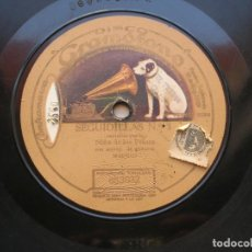 Discos de pizarra: NIÑA DE LOS PEINES. SEGUIRILLAS Nº 3./ MALAGUEÑAS Nº 3. DISCO 78 RPM LA VOZ DE SU AMO.. Lote 152028838