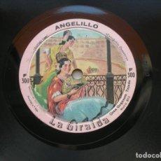 Discos de pizarra: GRAN ORQUESTA TEJADA. ANGELILLO ./ LA GIRALDA. DISCO 78 RPM LA GIRALDA.. Lote 152034326