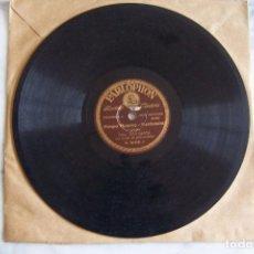 Discos de pizarra: DISCO DE PIZARRA DE JOTAS, JUAN GARCÍA. PIROPO BATURRO/ SARRIONERA/ LA RONDA QUE PASA.. Lote 152190218