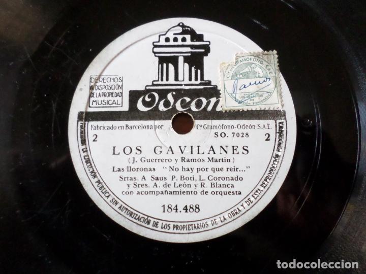 DISCO LOS GAVILANES DE PIZARRA (Música - Discos - Pizarra - Otros estilos)