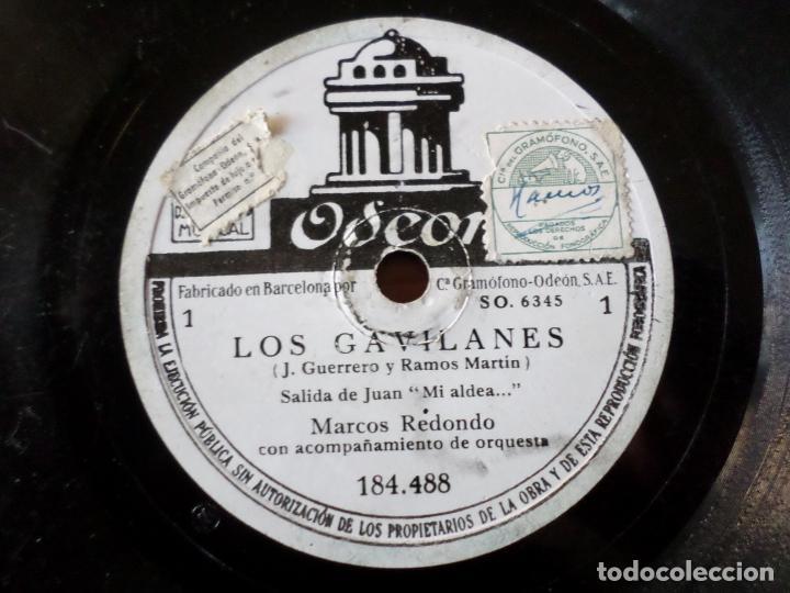 Discos de pizarra: DISCO LOS GAVILANES DE PIZARRA - Foto 3 - 152319366
