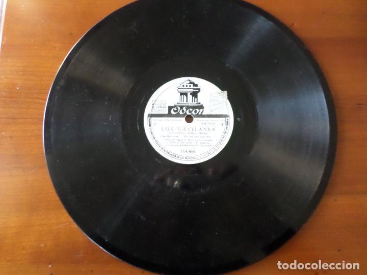 Discos de pizarra: DISCO LOS GAVILANES DE PIZARRA - Foto 5 - 152319366