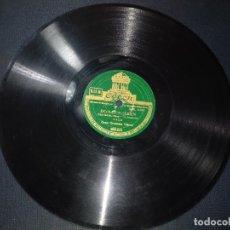 Discos de pizarra: GRAN ORQUESTA ODEON EL PAJARERO DISCO DE PIZARRA ODEON 10 PULGADAS OLAS DEL DANUBIO. Lote 152348126