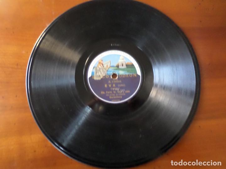DISCO ODEON EVA LEHAR PIZARRA (Música - Discos - Pizarra - Clásica, Ópera, Zarzuela y Marchas)