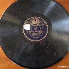 Discos de pizarra: DISCO EL SEÑOR NICOMEDES PIZARRA. Lote 152392530