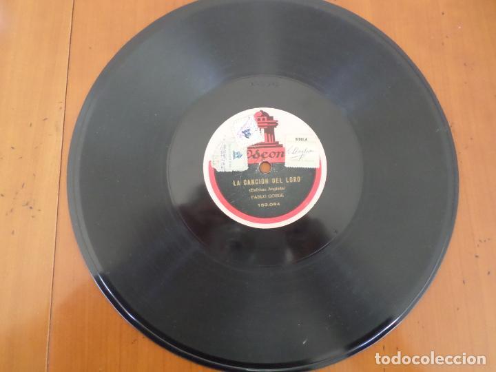 DISCO LA CANCION DEL LORO ESTEBAN ANGLADA (Música - Discos - Pizarra - Solistas Melódicos y Bailables)