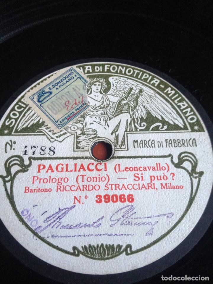 PAGLIACI LEONCAVALLO PRÓLOGO TONIO (Música - Discos - Pizarra - Bandas Sonoras y Actores )