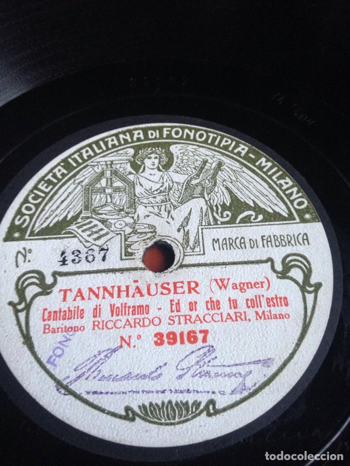 Discos de pizarra: Pagliaci leoncavallo prólogo tonio - Foto 3 - 153376197