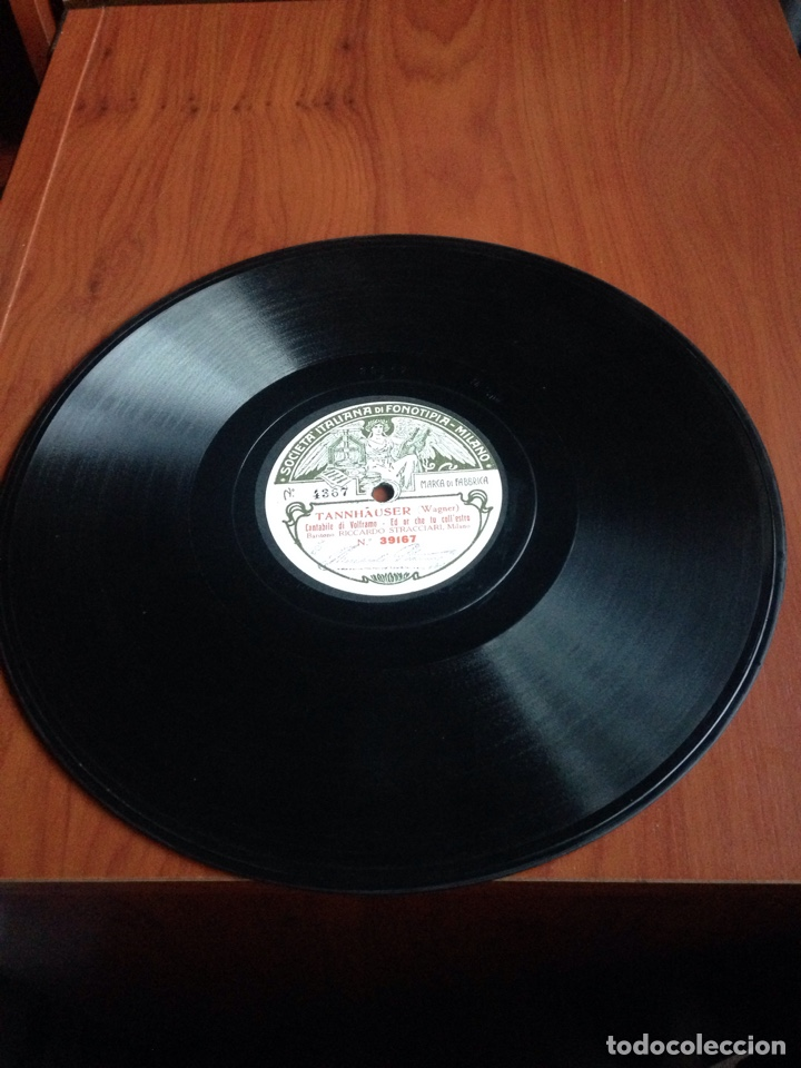 Discos de pizarra: Pagliaci leoncavallo prólogo tonio - Foto 4 - 153376197