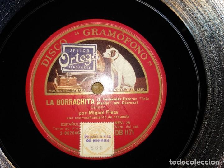 Discos de pizarra: Lote Miguel Fleta - Foto 2 - 153706266