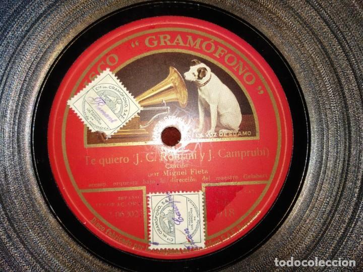 Discos de pizarra: Lote Miguel Fleta - Foto 3 - 153706266