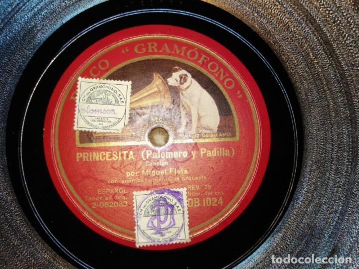Discos de pizarra: Lote Miguel Fleta - Foto 5 - 153706266