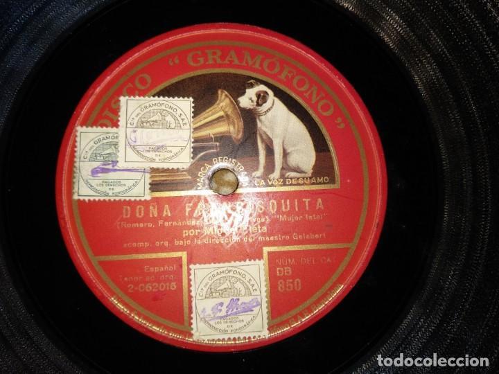 Discos de pizarra: Lote Miguel Fleta - Foto 13 - 153706266