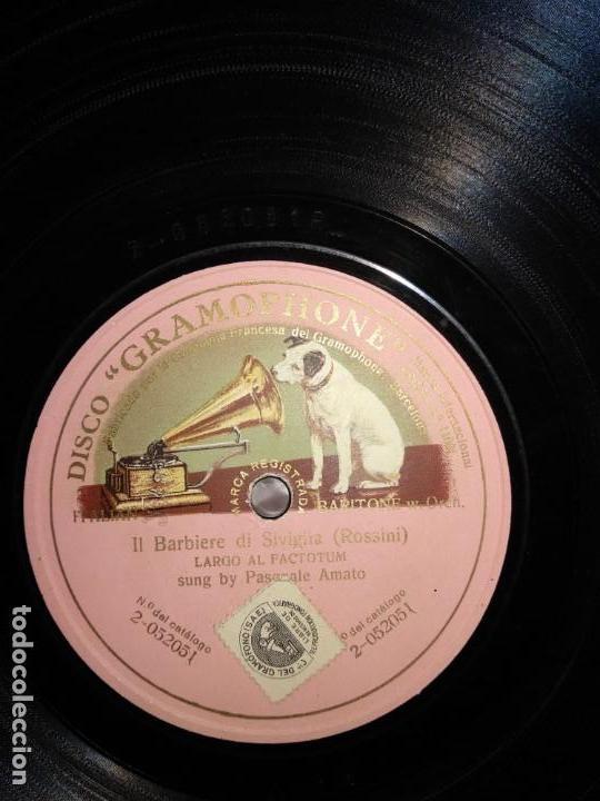 PASQUALE AMATO (Música - Discos - Pizarra - Clásica, Ópera, Zarzuela y Marchas)