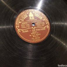 Discos de pizarra: DISCOS 78 RPM LUIS ESTESO. Lote 153926614