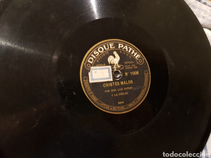 Discos de pizarra: Discos 78 Rpm Luis Esteso - Foto 4 - 153926614
